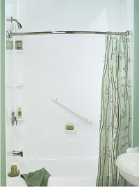 BMR White acrylic walls