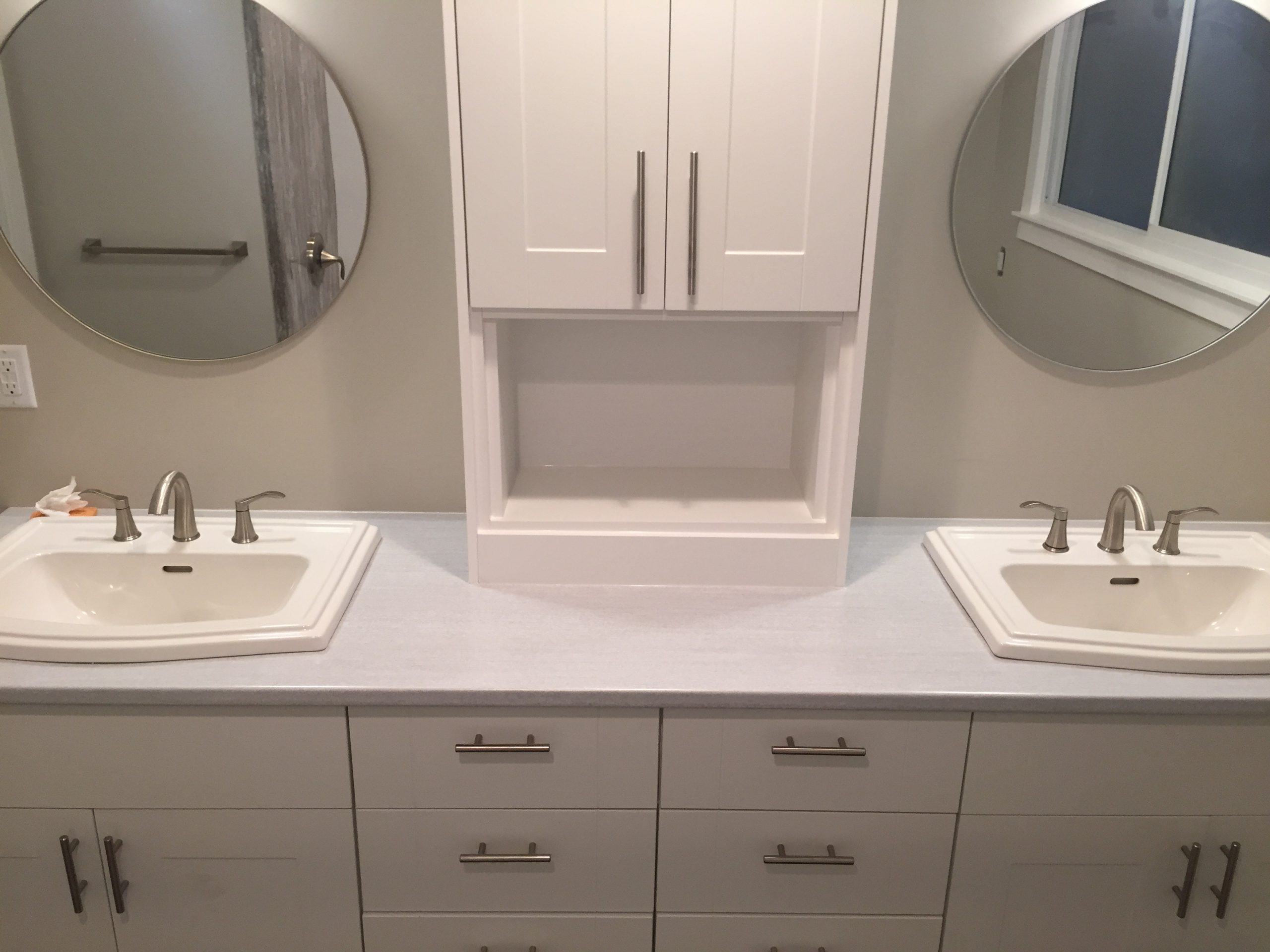 Double Sinks by Cassidy Dahl, Dahl Tubs, Prince Georgev