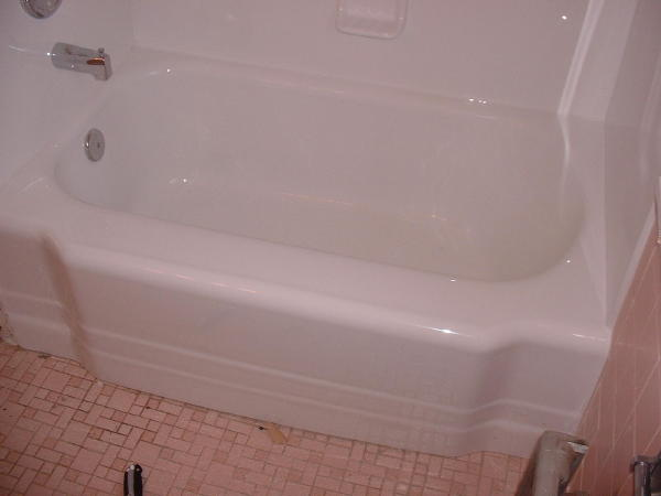 Tub Reglaze After