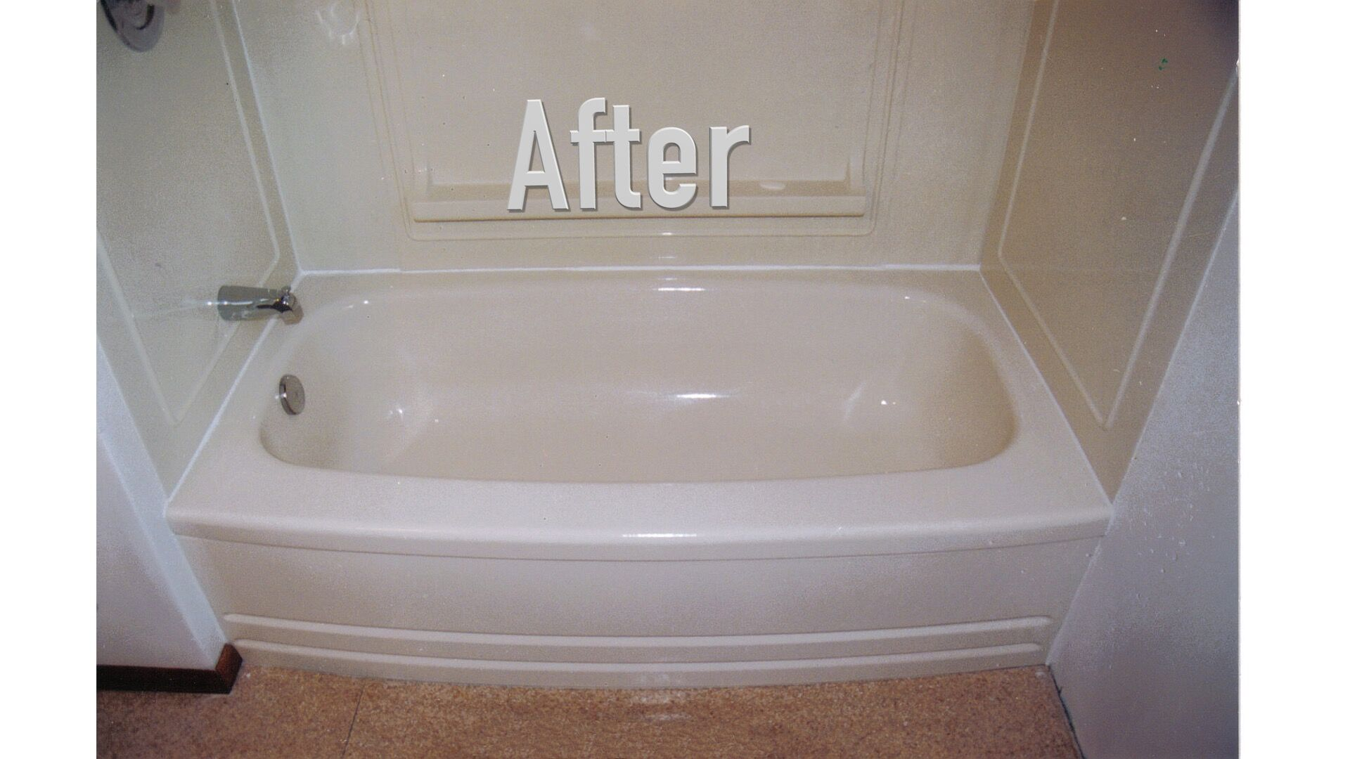 Tub after Reglaze